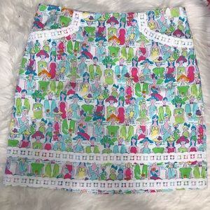 Lilly Pulitzer   Giddy Up Skirt